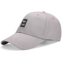 简约时尚男士棒球帽休闲运动百搭韩版潮英伦户外遮阳防晒帽青年太阳帽