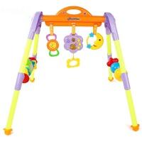 婴幼儿玩具 新生儿声光音乐摇铃健身架玩具宝宝儿童早教益智礼盒装生日礼物 音乐健身架 中号 70*60*60cm