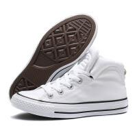 CONVERSE匡威女鞋帆布鞋All Star Brookline高帮休闲运动鞋557954