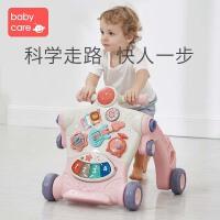 babycare�����W步�多功能防�确�男����女孩���W走路助步手推� 珀粉