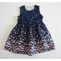 蝴蝶蝴蝶呀 你也一起飞 女童纯棉背心裙 自带美颜的蝴蝶连衣裙