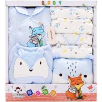 【3件3折后111.24】加厚婴儿衣服新生儿礼盒秋冬季保暖初生满月宝宝棉衣套装母婴用品
