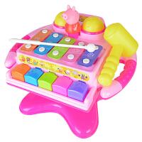 贝芬乐宝宝音乐玩具小猪佩奇手敲琴益智幼儿八音琴幼儿2-3岁