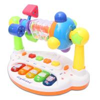 宝宝0-1-3岁益智电子音乐琴3-6-12个月婴幼儿摇铃男女孩儿童玩具