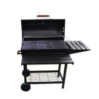 烧烤炉户外便携庭院美式BBQ焖烤一体 木炭烤炉出口加厚
