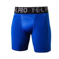 男士运动短裤 健身训练跑步 弹力速干网孔透气紧身短裤
