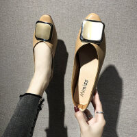 户外时尚单鞋休闲百搭平底鞋软底舒适女鞋ins潮