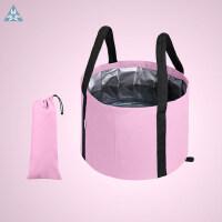 便携式可折叠水盆大号旅行泡脚袋洗衣盆儿童浴盆洗漱脸盆洗脚水桶