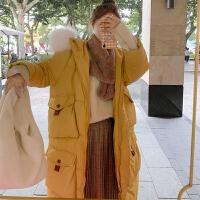 【年货节 直降到底】加厚保暖棉衣女冬2020新款中长款宽松韩版外套女棉服面包服大口袋