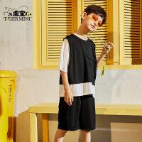 【2件3折:74.7元】男童短袖套装2021夏季新款儿童薄款中大童运动潮