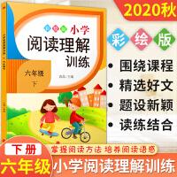 六年级阅读理解训练语文人教部编版 2021春下册专项训练