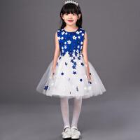 儿童礼服 女童公主裙夏 韩版蓬蓬裙表演服