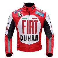 摩托车衣服男女四季摩托车情侣骑行服套装防水修身赛车越野服两件套装