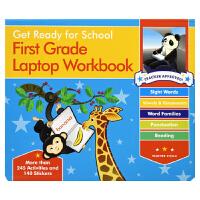 Get Ready For School First Grade Lap Workbook 便携活动书系列 一年级练习