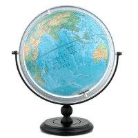 【正版现货】博目地球仪:30cm中英文地形地球仪(万向支架) 北京博目地图制品有限公司 9787503040016 测