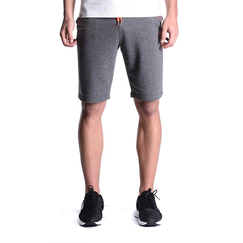361度男装运动裤夏季吸湿透气针织五分裤361跑步短裤