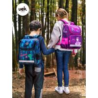 uek书包小学生男童女孩1-3一年级儿童书包6-12岁轻便休闲双肩背包