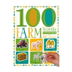 Sticker Activity 100 Farm Words 100张农场动物贴纸书 幼儿启蒙 单词活动书贴纸书 英
