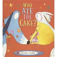 【首页抢券300-100】Who Ate the Cake 谁吃了蛋糕 绘本故事 英文启蒙 品行习惯管理 睡前故事 学数