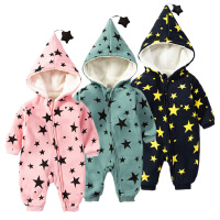 婴儿童连体衣服0-1岁3个月女宝宝新生儿衣服春秋装冬季卫衣外出服