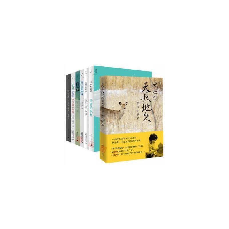 龙应台作品全集(全套7册)  目送+野火集+亲爱的安德烈+美丽的权利+孩子你慢慢来++银色仙人掌 +天长地久:给美君的信 回忆是一种淡淡的痛 断货