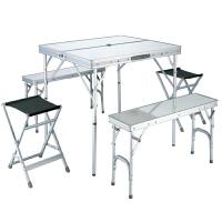 Nevalend 纳瓦兰德 户外野营野炊便携式 折叠桌椅套装NC107032 自驾游折叠桌椅