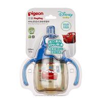 贝亲Disney Magmag PPSU 阶段式训练吸管杯(蓝色,闪电麦昆)