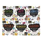 STEAM + Physics Starters For Kids STEM 入门活动书6册套装 儿童兴趣启蒙涂鸦风格