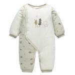 【3件3折后35.64】婴儿衣服婴儿棉衣加厚男女宝宝连体衣外出服婴儿还以爬服连体衣