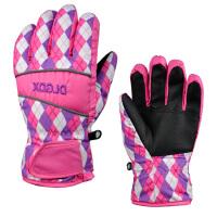 儿童滑雪手套 保暖棉手套分指包指款 防风防水防雨玩雪SN6034