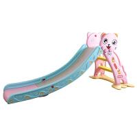 儿童室内滑梯 萌猫音乐趣味小型滑滑梯家用多功能宝宝滑梯组合玩具 加长音乐