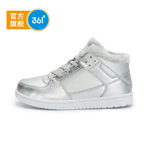 361°361度童鞋女童鞋春季新品儿童棉鞋N81742654