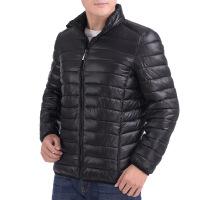 2018秋季新款秋冬季青年男士轻薄款中年男装爸爸冬装外套厚