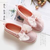 春秋季月子鞋产妇包跟软底加厚冬款防滑孕妇鞋厚底月子鞋产后鞋女