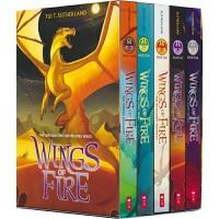 【首页抢券300-100】Scholastic Wings of Fire Boxset 火翼飞龙 5册套装 奇幻冒险