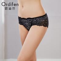 【2件3折到手价约:32】欧迪芬女式内裤低腰平口裤女士内裤XP8502