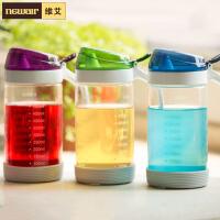 维艾晶彩系列油壶套装高硼硅玻璃厨房用品酱油瓶调料瓶调味瓶醋壶800ML套装