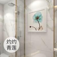 壁画收纳柜 卫生间浴室可折叠家用防水壁挂式免打孔衣服置物架 1个