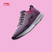 李宁跑步鞋女鞋新款光梭2018轻质透气耐磨一体织情侣鞋春季运动鞋ARBN038