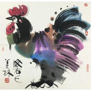 韩美林《大吉图》著名画家