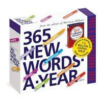 【现货】英文原版 365个新单词 2019年日历 韦氏词典 每天一页 进口台历 365 New Words-A-Yea
