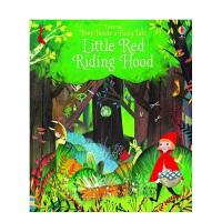 Peep Inside 偷偷看里面系列 Little Red Riding Hood 小红帽 英文原版 儿童翻翻书 亲子阅读