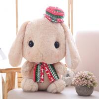 可爱长耳朵兔子公仔宝宝毛绒玩具抱枕小白兔玩偶布娃娃圣诞礼物女