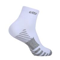 etto英途秋冬款男士运动袜足球训练袜中筒短袜SO017