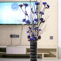 干花花束假花仿真花摆件客厅落地装饰花室内塑料花插花电视柜摆设