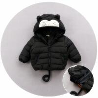 宝宝羽绒男1一3岁潮冬婴儿棉衣女外套男童棉袄轻薄0-6-12个月