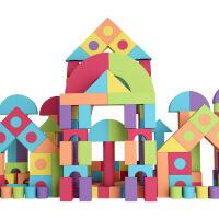 儿童积木3-6周岁婴儿软体男孩玩具eva泡沫积木1-2岁女孩宝宝