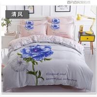 棉卡通床上用品四件套双人1.5/1.8m儿童床单人被套三4件套3