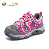 CAMKIDS儿童鞋春季户外女大童运动鞋男童鞋休闲女童休闲鞋登山