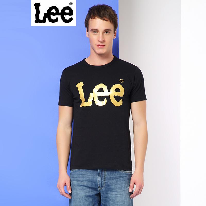 Lee男装2017春夏新品字母印花短袖T恤男L250232LQK11